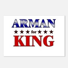 ARMAN for king Postcards (Package of 8)