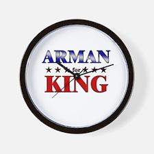 ARMAN for king Wall Clock