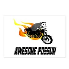 Flaming Awesome Possum Postcards (Package of 8)
