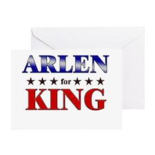 ARLEN for king Greeting Card