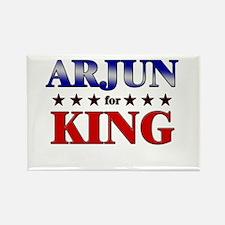 ARJUN for king Rectangle Magnet