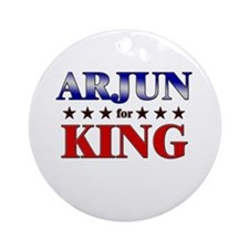 ARJUN for king Ornament (Round)