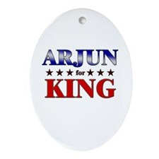 ARJUN for king Oval Ornament
