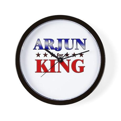 ARJUN for king Wall Clock