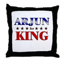 ARJUN for king Throw Pillow
