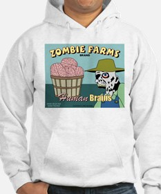 Zombie Farms Fruit Crate Label Hoodie