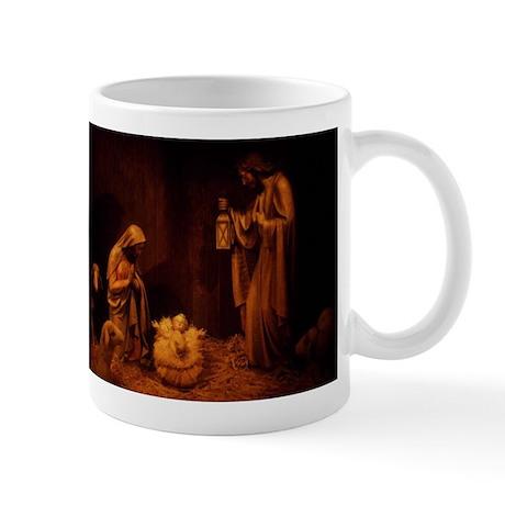 Nativity / Christ In Manger Mug