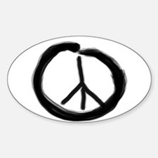 EnsoPeace Oval Decal