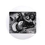"Giant Homer Pigeons 3.5"" Button (100 pack)"