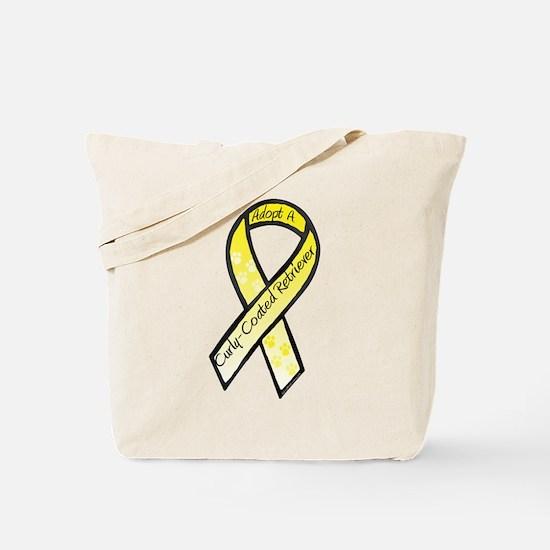 Curly-Coat RibbonC Tote Bag