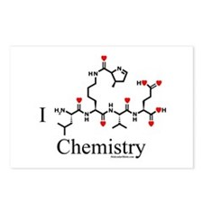 I love Chemistry Postcards (Package of 8)