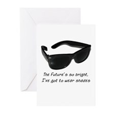 Sunglasses - bright future -  Greeting Cards (Pack
