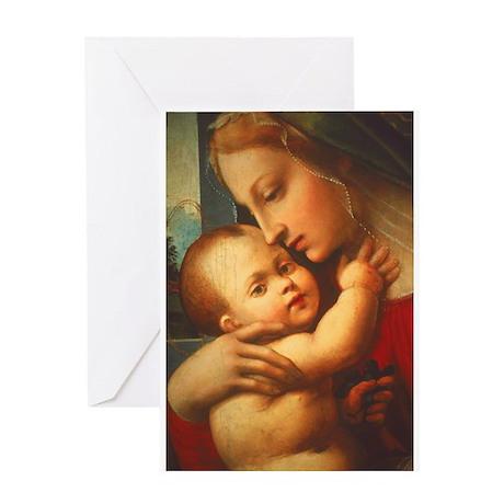 Madonna #3 Greeting Card