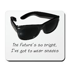 Sunglasses - bright future -  Mousepad