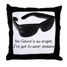 Sunglasses - bright future -  Throw Pillow