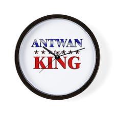 ANTWAN for king Wall Clock