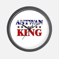 ANTWAN for king Wall Clock