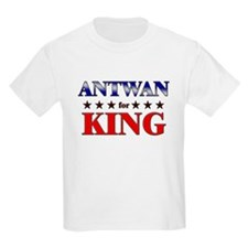 ANTWAN for king T-Shirt