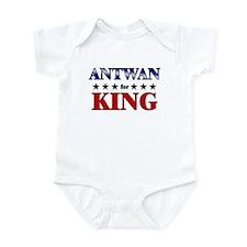 ANTWAN for king Infant Bodysuit