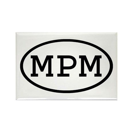 MPM Oval Rectangle Magnet