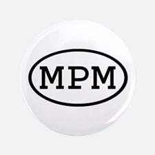 """MPM Oval 3.5"""" Button (100 pack)"""