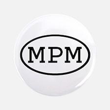 "MPM Oval 3.5"" Button"