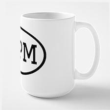 MPM Oval Large Mug