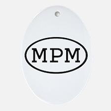 MPM Oval Oval Ornament