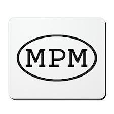MPM Oval Mousepad