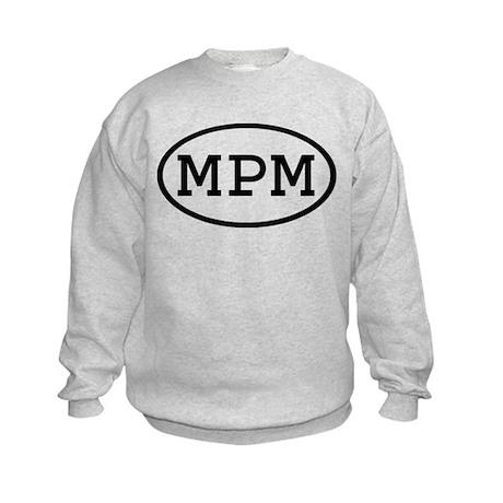 MPM Oval Kids Sweatshirt