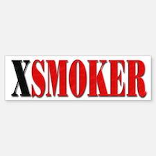 X-Smoker Bumper Bumper Bumper Sticker