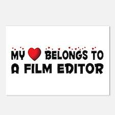 Belongs To A Film Editor Postcards (Package of 8)