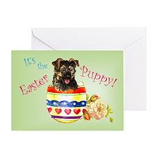 Easter German Shepherd Greeting Card