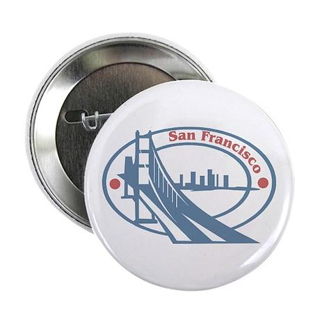 Retro San Francisco Button