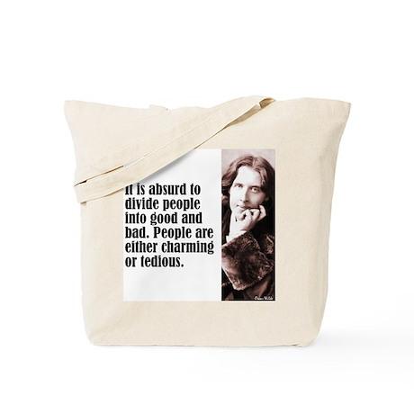 """Wilde """"Absurd"""" Tote Bag"""