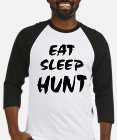 Eat Sleep Hunt Baseball Jersey