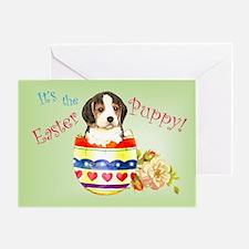 Easter Beagle Greeting Card