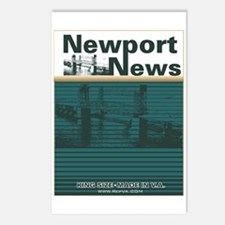 Newport News 2 Postcards (Package of 8)