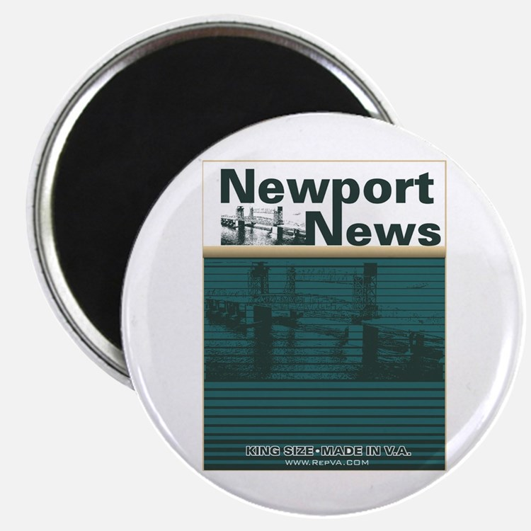 "Newport News 2 2.25"" Magnet (10 pack)"