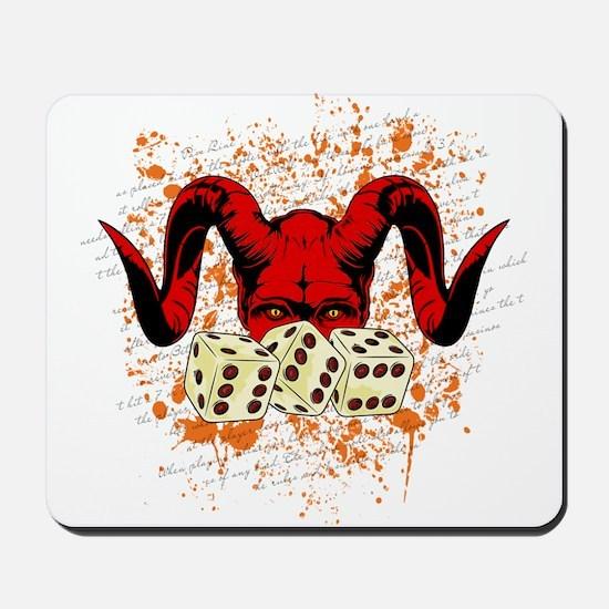 DEVIL DICE Mousepad