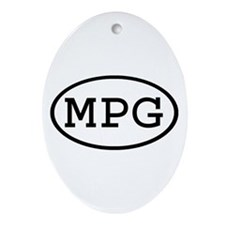 MPG Oval Oval Ornament