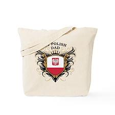 Number One Polish Dad Tote Bag