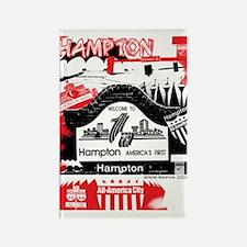 Hampton 2 Rectangle Magnet