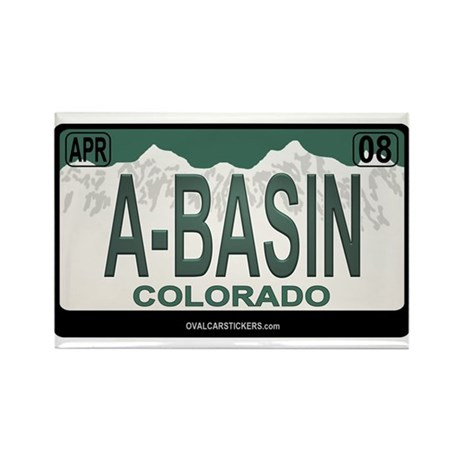 A-Basin Plate Rectangle Magnet