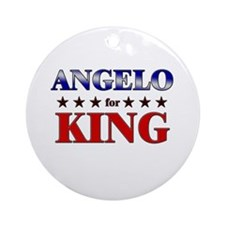 ANGELO for king Ornament (Round)