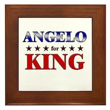 ANGELO for king Framed Tile