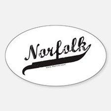 Norfolk Oval Decal