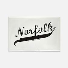 Norfolk Rectangle Magnet