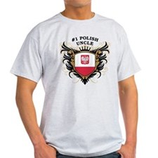 Number One Polish Uncle T-Shirt