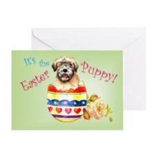 Easter Wheaten Greeting Card